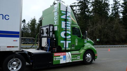 Focus On... Kenworth's Zero Emissions Hydrogen Truck [Video]