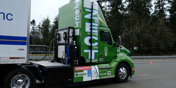 Focus On... Kenworth's Zero Emissions Hydrogen Truck [Video]