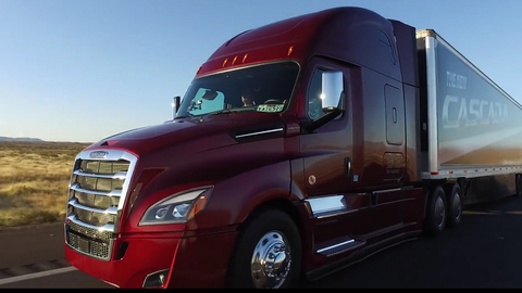 Ultimate Test Drive: New Cascadia's Intelligent Powertrain [Video]
