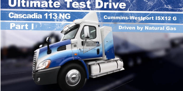 Ultimate Test Drive Video: Cascadia 113 With Natural Gas