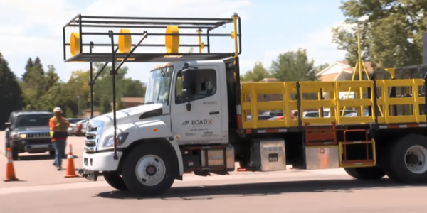 Watch Colorado's Self-Driving Work Zone Truck