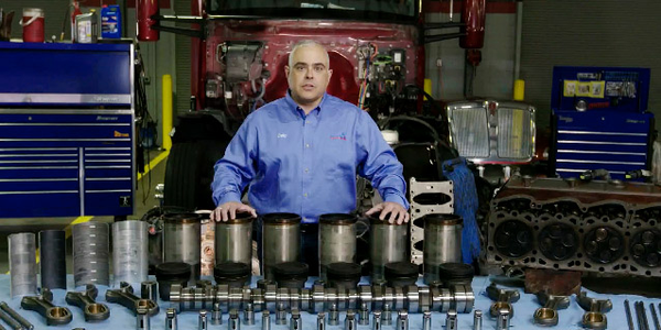 Truck Engine Teardown Examines FA-4 Oil Protection [video]