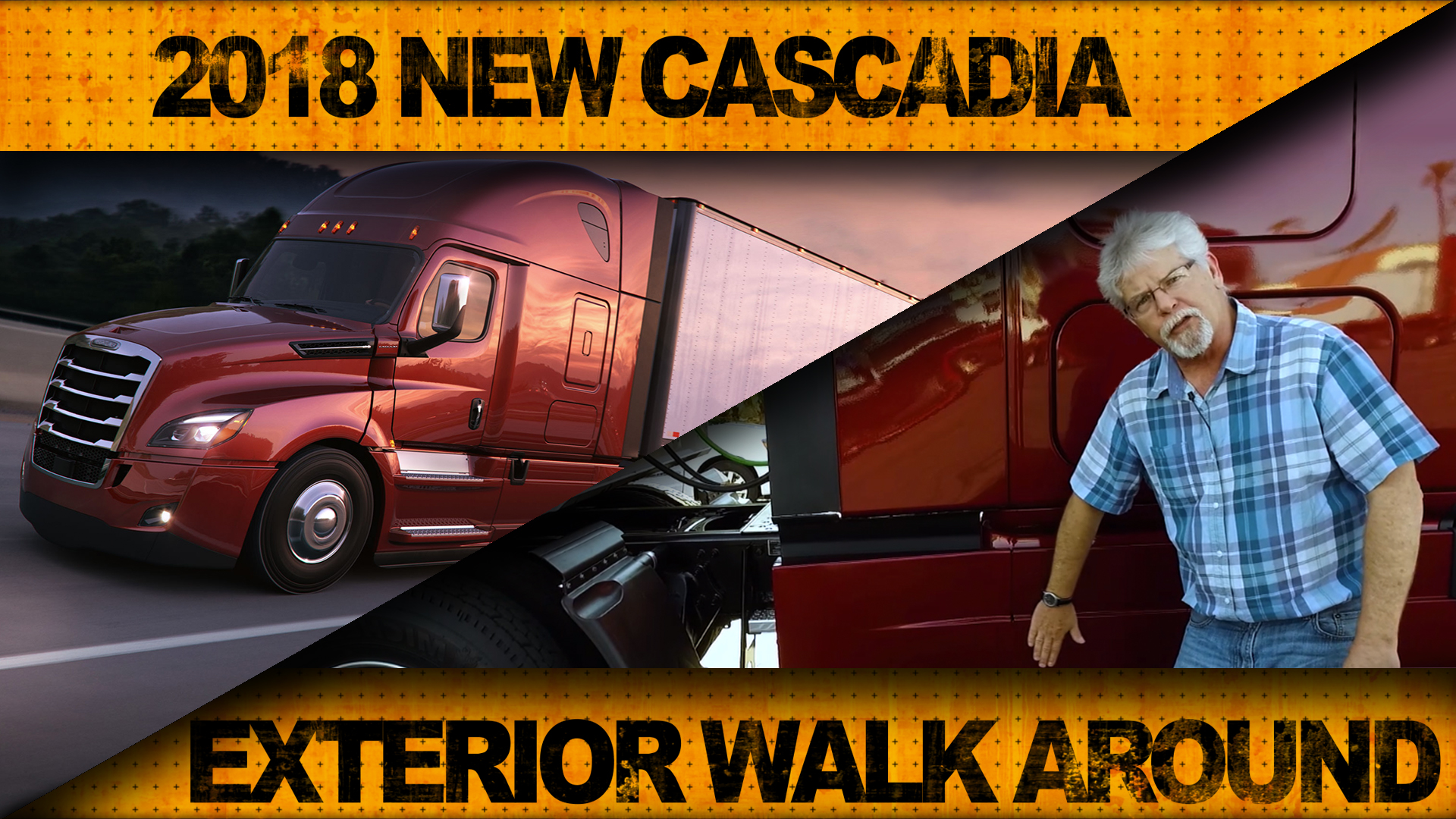 Ultimate Test Drive: Freightliner's New Cascadia Pt. 1 [Video]