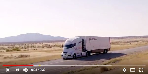 Nikola Hydrogen Fuel Cell Truck on the Road [Video]