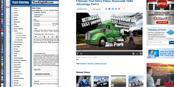 Ultimate Test Drive Video: Kenworth T680 Advantage Part 2 - Overview