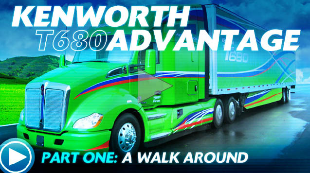 Ultimate Test Drive Video: Kenworth T680 Advantage