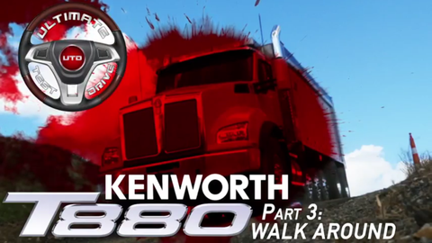 Ultimate Test Drive Video: Kenworth T880 Part 3