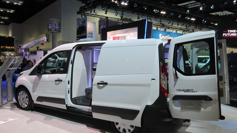 Ford Talks Updated 2019 Transit Connect [Video]