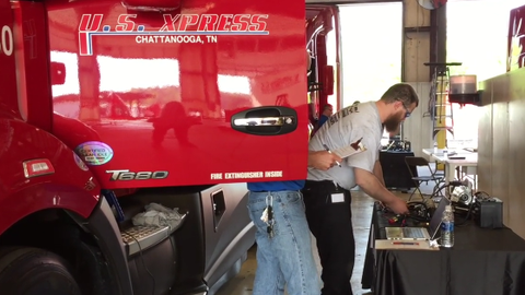 On the Spot: U.S. Xpress Max-imum Tech Competition [Video]