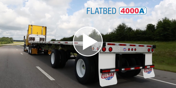 Utility Trailer Details 4000A, 4000S Flatbeds and Tautliner