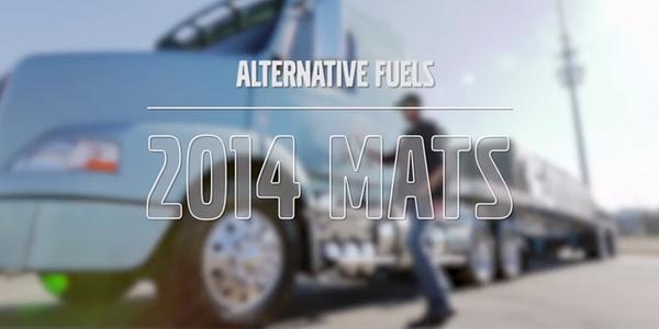 Volvo Talks Alternative Fuels at 2014 MATS