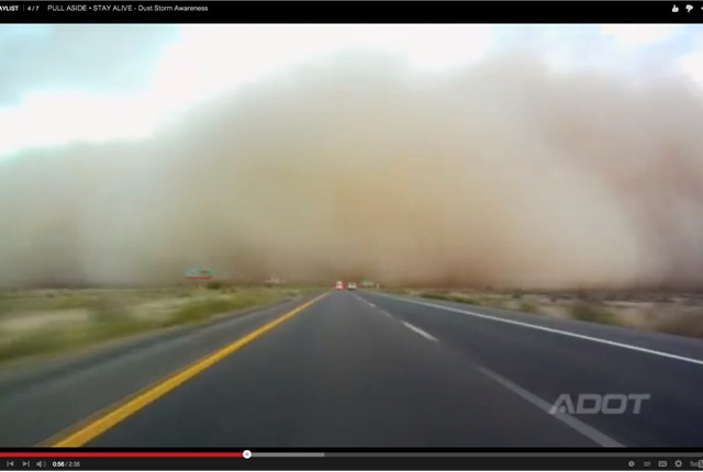 Dust Storm Awareness: Pull Aside, Stay Alive