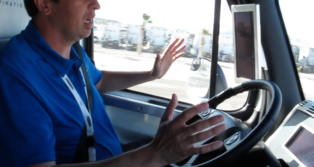 Video: In the Cab of Freightliner's Autonomous Truck