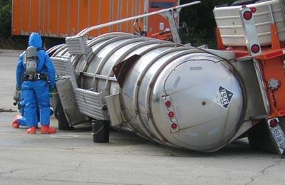 Cargo Tank Driver Rollover Prevention
