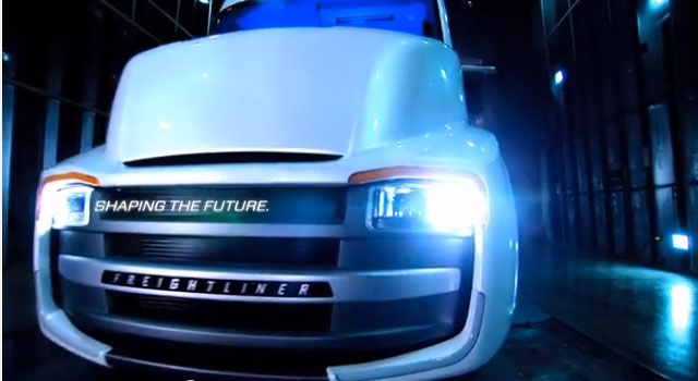 Video: The Building of the Freightliner Revolution Innovation Concept Truck