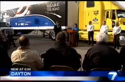 Video: TV News Story on Sharing the Road