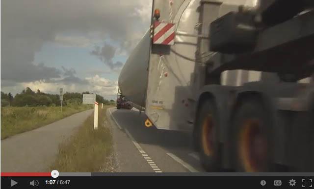 Transporting the World's Largest Wind Turbine