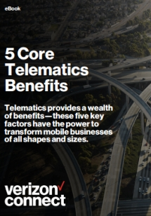 5 Core Benefits of Telematics