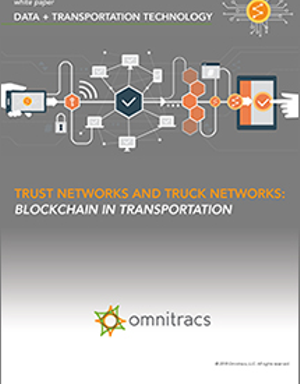 Trust Networks & Truck Networks: Blockchain in Transportation