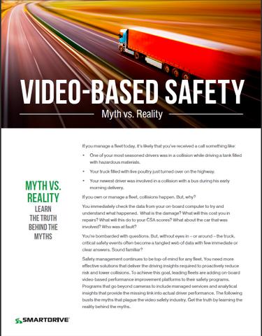 Video Safety Myth vs. Reality