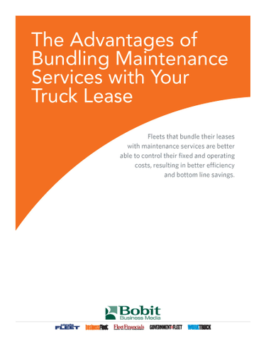 The Advantages of Bundling Maintenance Services with Your Truck Lease