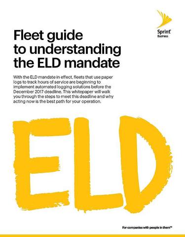 Fleet Guide to Understanding the ELD Mandate