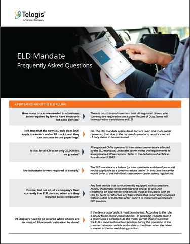 42 Questions on ELDs Answered