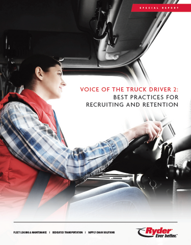 Voice of the Driver 2: Best Practices for Recruiting and Retention