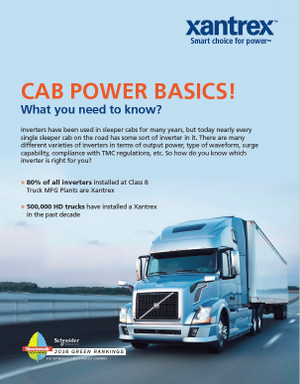 Cab Power Basics – What you need to know