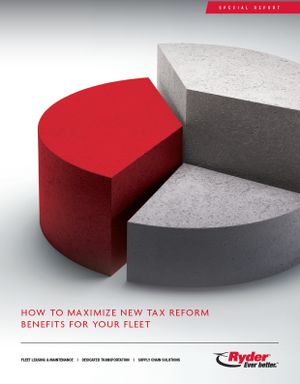 How to Maximize New Tax Benefits for Your Fleet