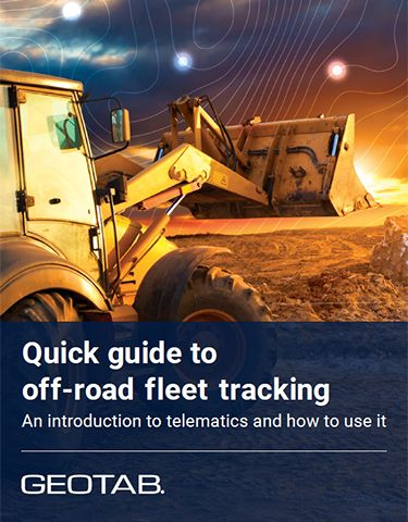 Quick Guide to Off-Road Fleet Tracking