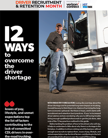 Quick Guide: 12 Ways to Overcome the Driver Shortage
