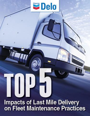 Top Five Impacts of Last Mile Delivery on Fleet Maintenance Practices