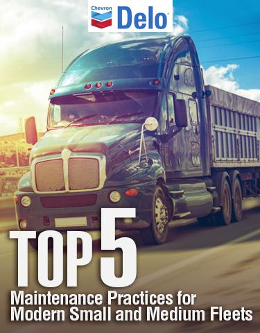 Top Five Maintenance Practices for Modern Small and Medium Fleets