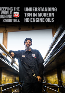 Understanding TBN in Modern HD Engine Oils