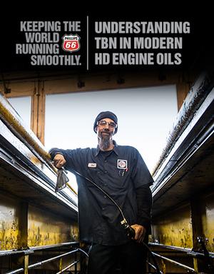 Understanding TBN in Modern HD Engine Oils