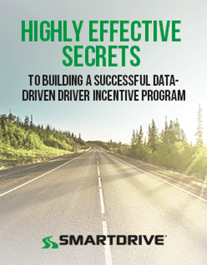 Highly Effective Secrets to Building a Successful Data-Driven, Driver Incentive Program