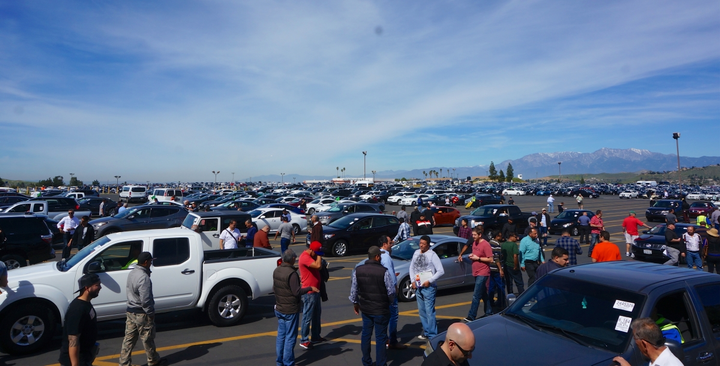 Bidding on vehicles online, especially when vehicle imaging and condition report technology is continually evolving, is simply more convenient and a more efficient use of a dealer's time than physically attending an auction.  - Courtesy of Cox Automotive.