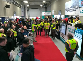 Mike Caggiano, eastern Region EVP for ADESA, said that the company had several commercial consignors ask for a selling solution to eliminate vehicles' physical presence from the lanes.