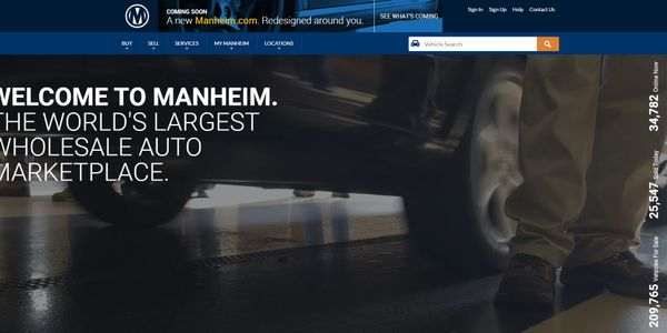 Manheim Introduces New Website