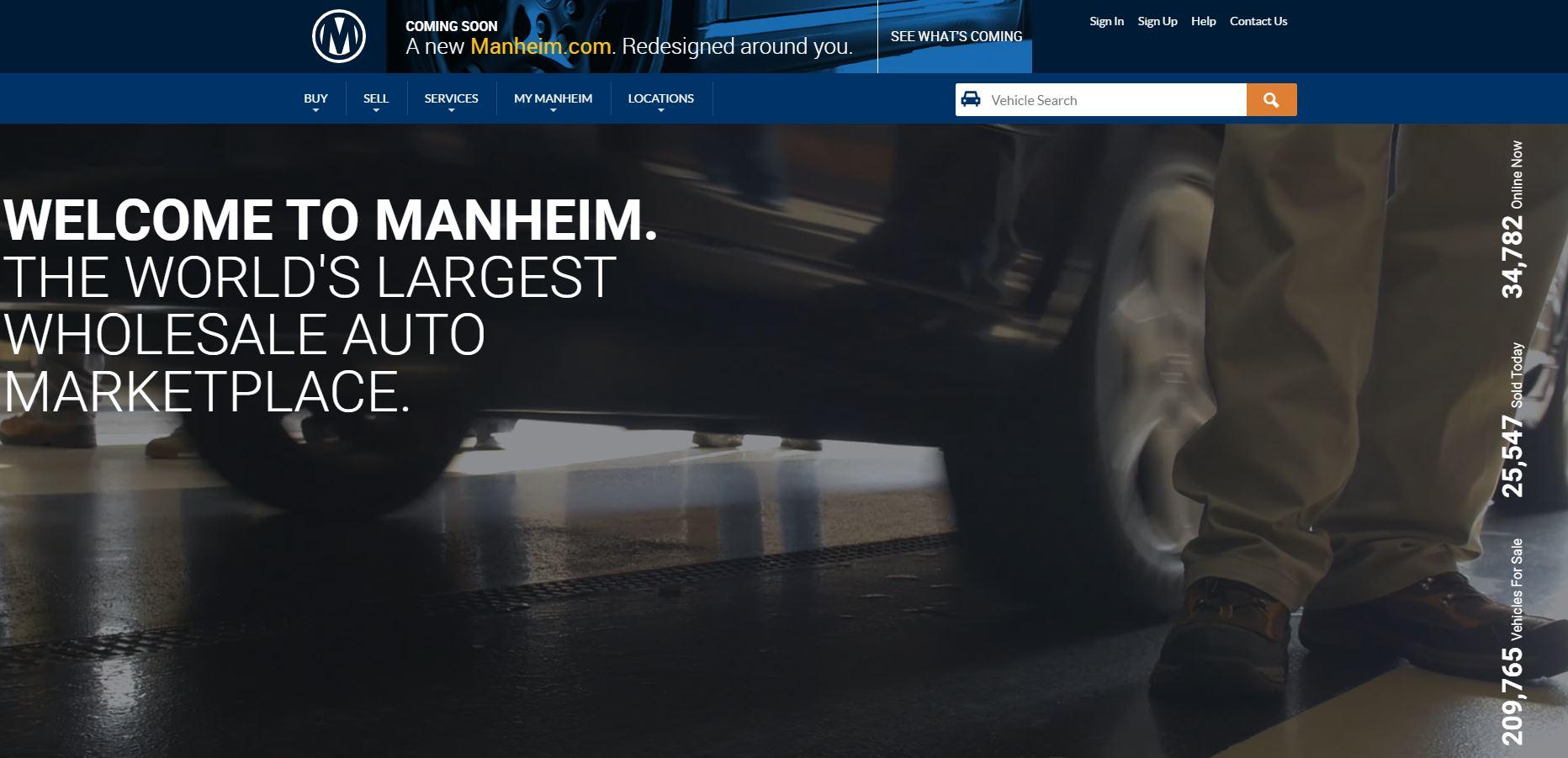 Manheim Introduces New Website
