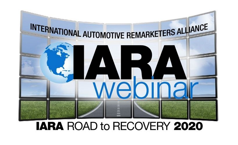 IARA Hosting Second Webinar in 2020 Road to Recovery Series