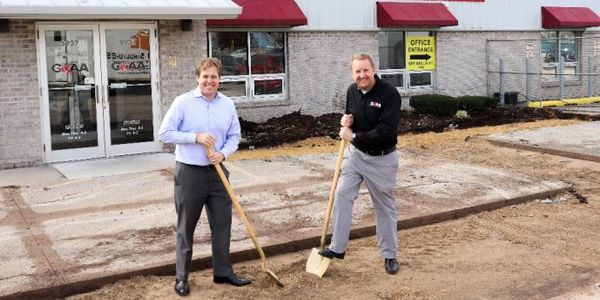 Greater Rockford Auto Auction Breaks Ground on Office Expansion