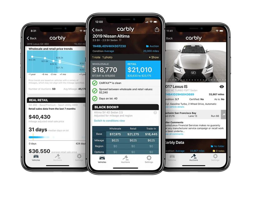 Carbly & Auction Edge Partner to Expand Auction Inventory Searches