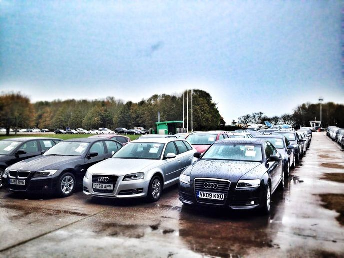 Audis at a Manheim Car Auction. - Photo by carleasingmadesimple.com / Flickr
