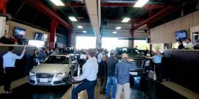 New and Used Vehicle Sales Climb, Wholesale Prices Soar