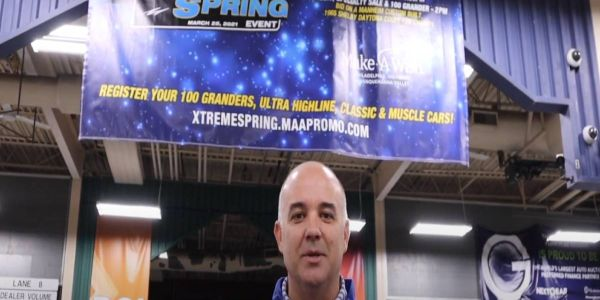 Manheim Pennsylvania's Vice President and General Manager Joey Hughes promoted the March 25...