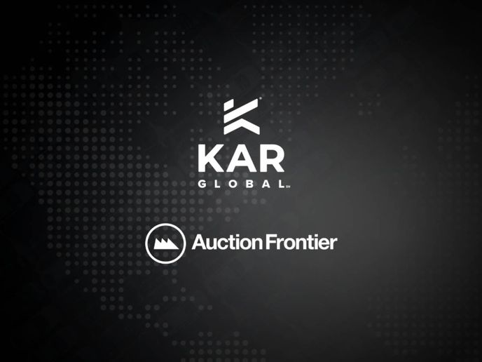Auction Frontier's Velocicast platform powers digital simulcast sales for more than 300 wholesale and retail auctions across North America and Australia. - Image: KAR Global