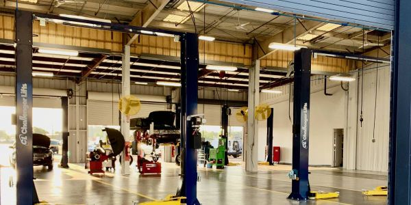 With its new building, Manheim Central Florida clients save the cost of having to transport...