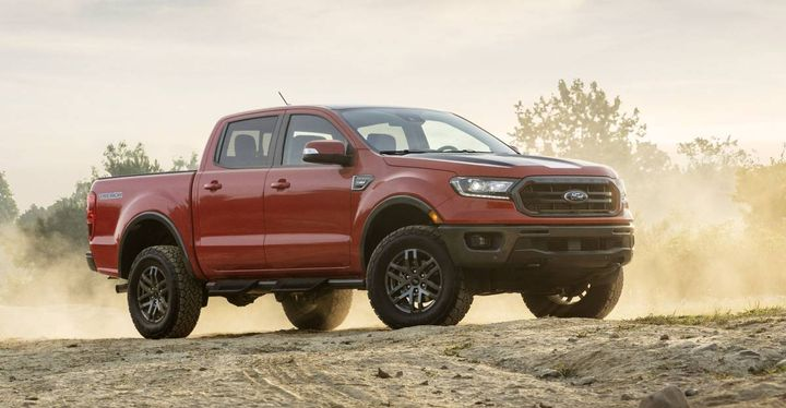 If the compact pickup segment does indeed get traction, it is likely to spur other OEMs to get into the game to compete, such as with this 2021 Ford Ranger. - Photo: Ford